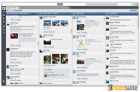 fb hoot facebook tools added to hootsuite include search groups