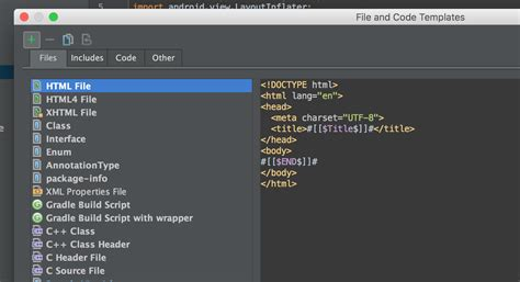 android studio templates how to make your own file templates in android studio