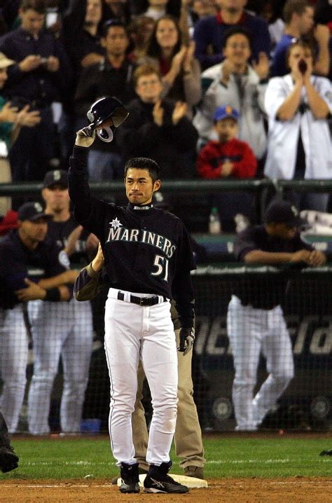Ichiro Suzuki 2001 17 Best Images About The Fan Favorites On