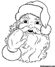printable coloring pages santa search results for santa claus printable calendar 2015