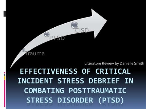 Alleviating Stress With Humour A Literature Review by Critical Incident Stress Debrief Literature Review