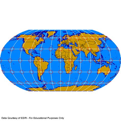 robinson map robinson projection map