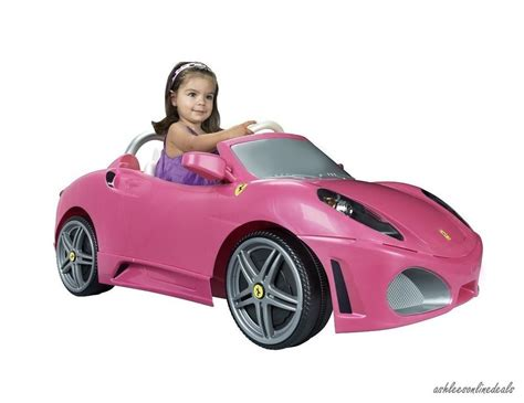 power wheels for girls pink ride on car toy girls electric kids ferrari children