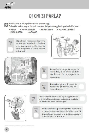 il piacere dei testi 1 pdf comprensione testo scuola primaria e media schede