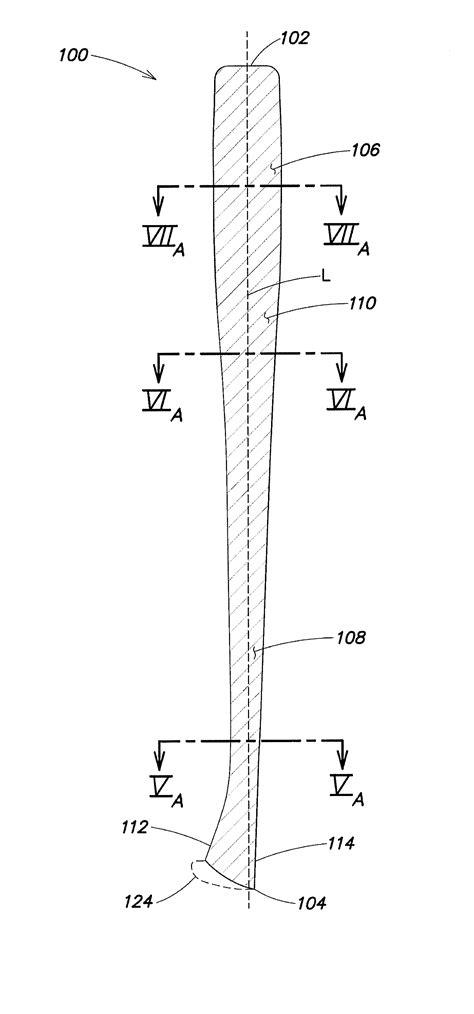 B Drawing Size by Patent Us7878930 Baseball Bat Patents