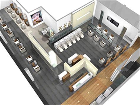 Salon Layouts Floor Plans nazih cosmetics