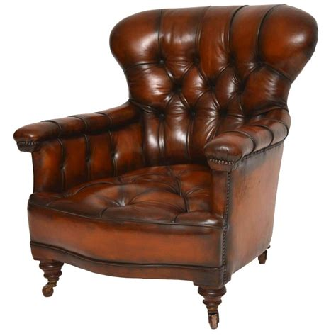 antique leather armchair stunning antique victorian leather armchair for sale at
