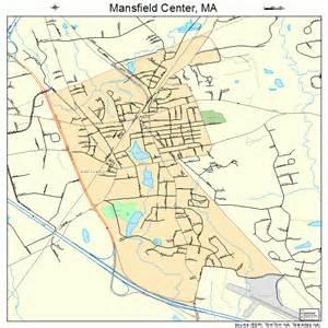 mansfield map mansfield center massachusetts map 2538230