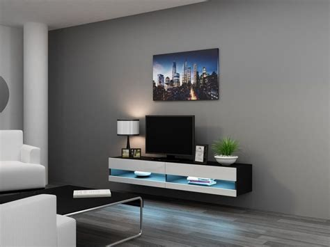 appealing wall mounted tv cabinet also adorable white