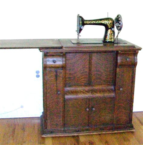 singer sewing machine in wooden cabinet cabinet wood