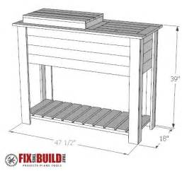 patio cooler plans how to build a patio cooler and grill cart combo