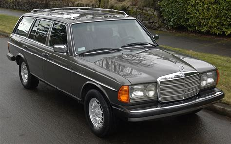1984 Mercedes 300td Wagon by 1984 Mercedes 300td No Reserve German Cars For Sale
