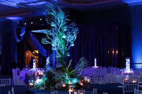 water themed events underwater themed decor underwater themed event