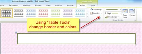 Change Table Border Color How To Change The Color Of A Change Table Border Color