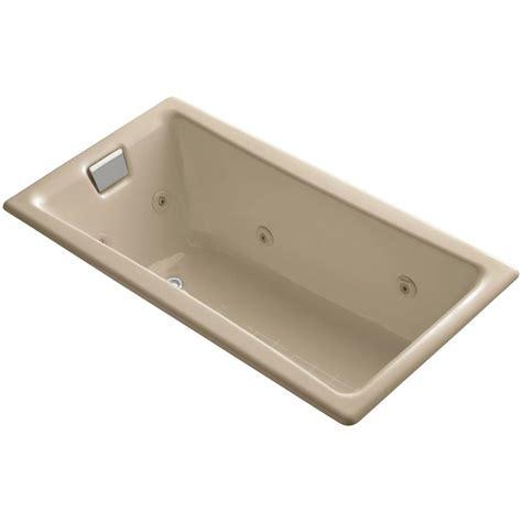 kohler tea for two bathtub kohler tea for two 5 ft whirlpool bath tub in mexican