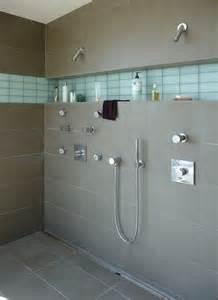shower niche shelf silver spray