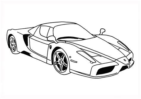 imagenes para colorear un carro dibujos de vehiculos coches y carros para colorear e imprimir