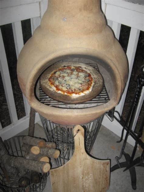 chiminea pizza tempting chiminea pizza homesteading downsized