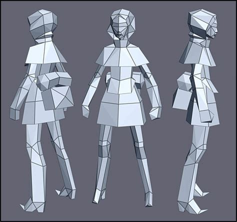 Low Poly Count 3d Models