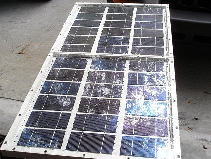 home made solar cell home made solar panel diy solar