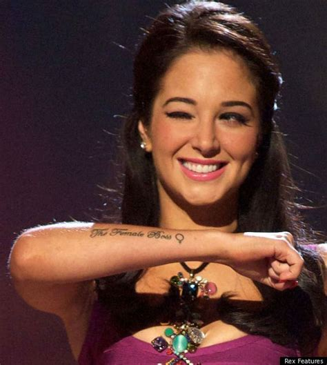 tattoo on side of arm towie s maria fowler shows off tulisa style tattoo