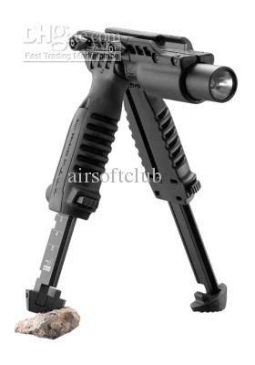 fab front grip foregrip flashlight tactical light holder