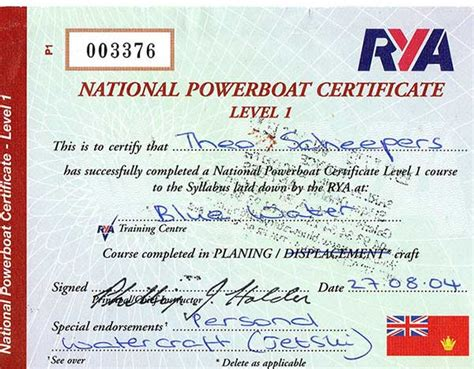blue water powerboat level 2 theo scheepers marine