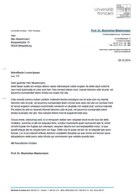 In Design Vorlage Briefbogen theinhardt