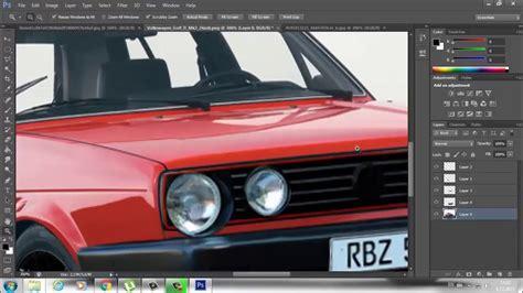 Auto Tuning Programm by Photoshop Cs6 Car Tuning Youtube