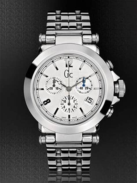 Gc B1 Class Bl Lth gc b1 class silver timepiece guess