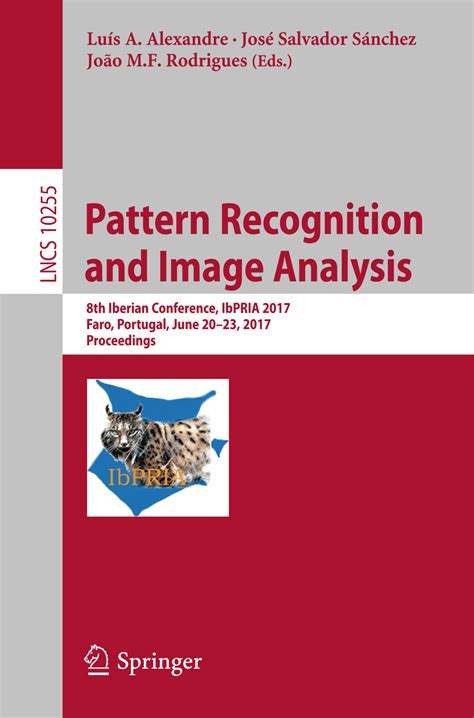 pattern recognition journal review pattern recognition and image analysis 8th iberian