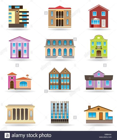 different architectural styles buildings and houses in different architectural styles