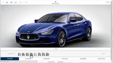 build maserati build your own maserati