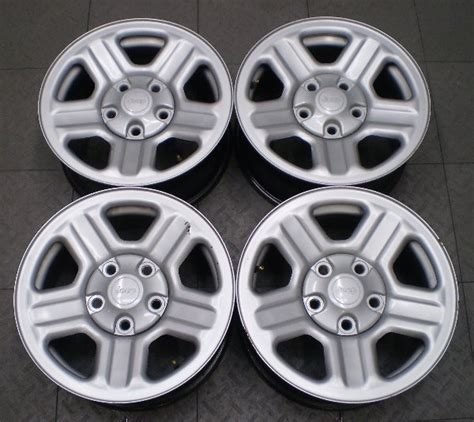 Steel Jeep Wheels 9072 Jeep Wrangler 16 Quot Factory Steel Wheels Rims Ebay