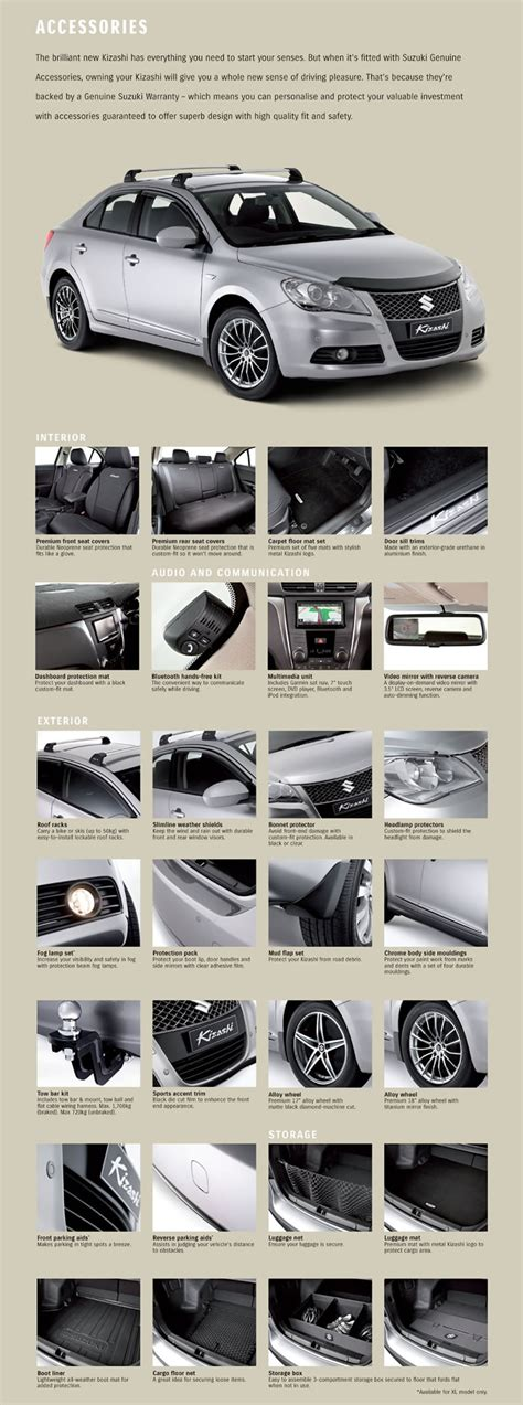Suzuki Kizashi Accessories Suzuki Kizashi Accessories Auto Parts Diagrams