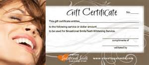 dental gift certificate template search results for gift certificate template free