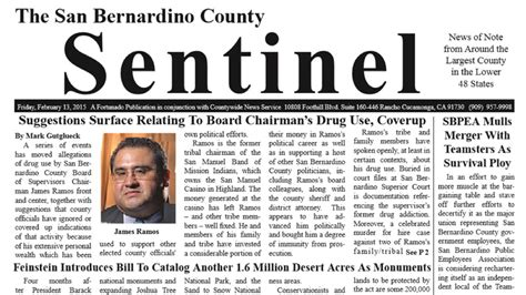 San Bernardino County Detox by Supervisor Ramos May A Problem
