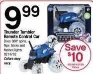 thunder tumbler remote car blackfriday fm