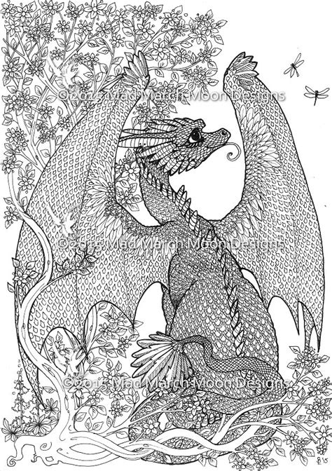 detailed coloring pages pdf free coloring pages of detailed dragons