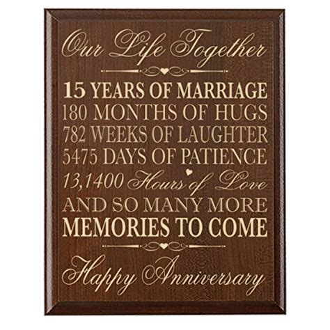 15 Year Anniversary Gift Ideas For Him