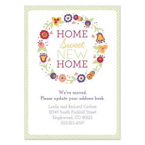 home sweet new home invitations cards on pingg