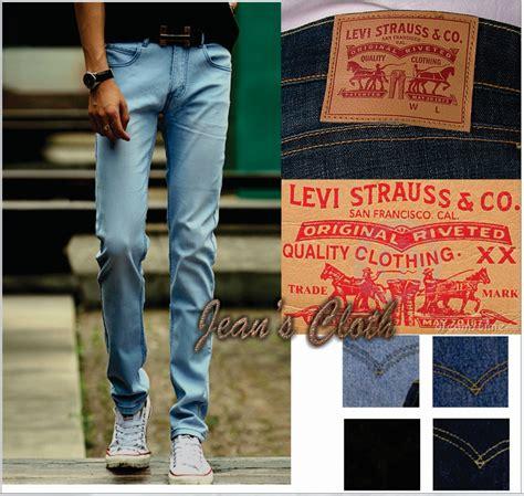 Lois Hitam Pekat Model Pensil Slim Fit jual celana slim fit levis pria jean s cloth