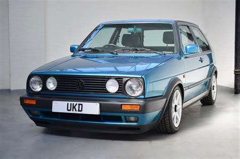 volkswagen gti blue used 1987 volkswagen golf gti mk1 mk2 gti 16v for sale in