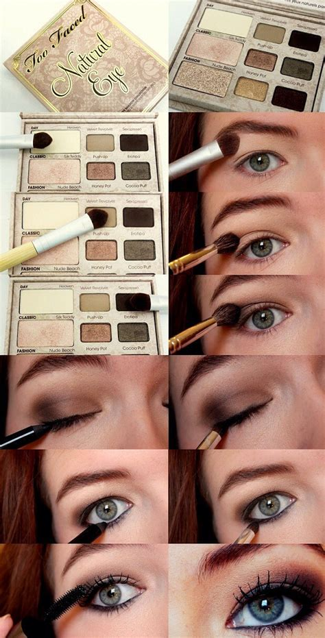 eyeshadow tutorial using too faced different makeup palette tutorials trusper