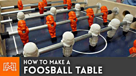 foosball table woodworking plans