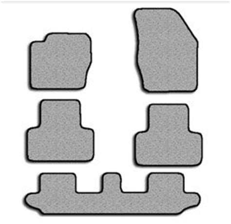 volvo xc90 touring carpeted custom fit floor mats 5 pc