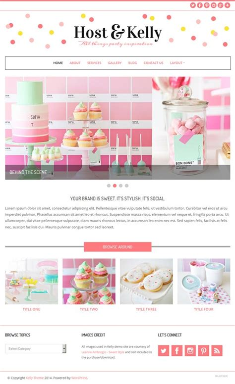 wordpress themes girly best feminine wordpress themes for women