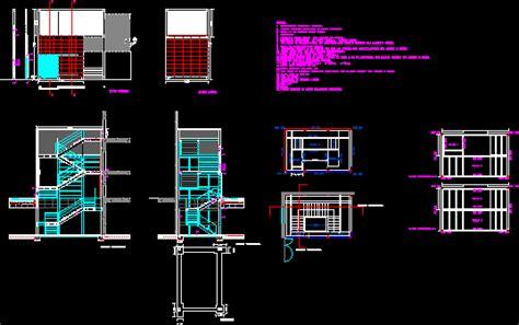 stairway  fires dwg block  autocad designs cad