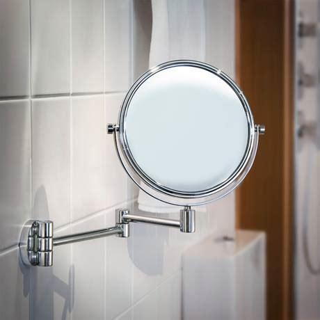 smedbo outline swing arm shaving and make up mirror round smedbo outline polished chrome shaving make up mirror on