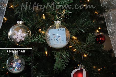 Handmade Photo Ornaments - photo ornament